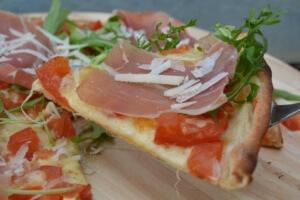 Pizza nach Art des Hauses